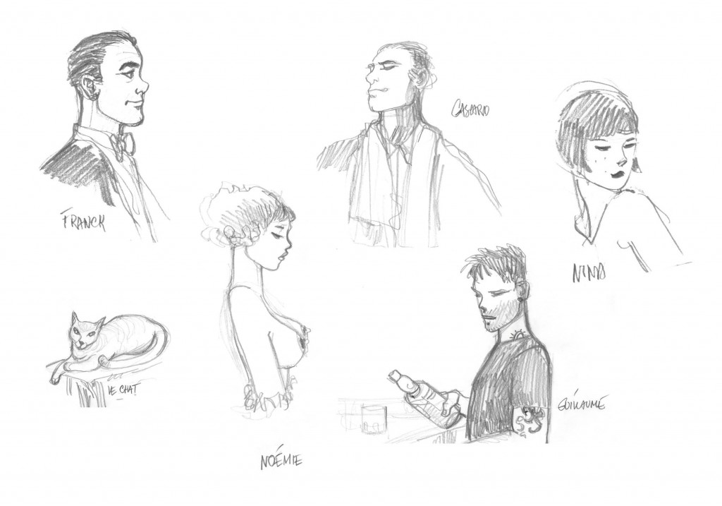 croquis-personnages